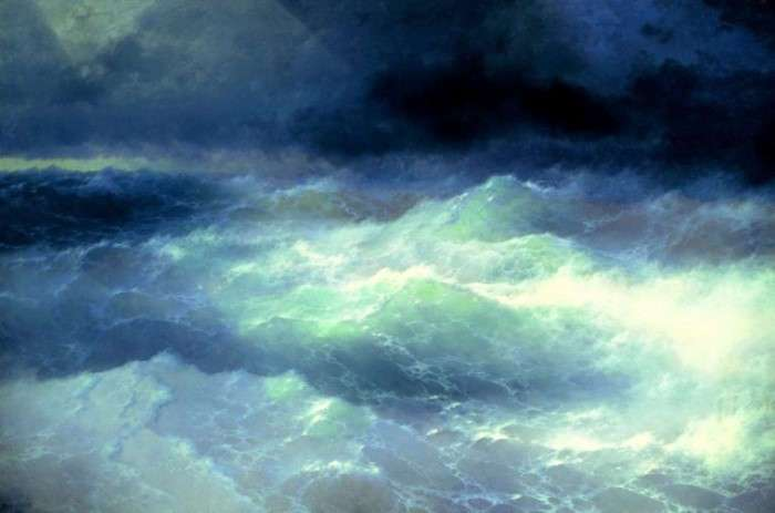 Как появился «Девятый вал» И. Айвазовского: история одного шедевра