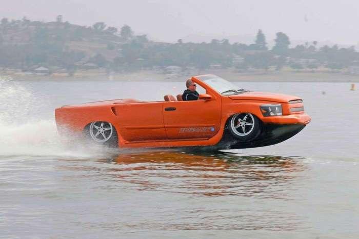10 лучших автомобилей-амфибий, которые стирают грани между сушей и морем