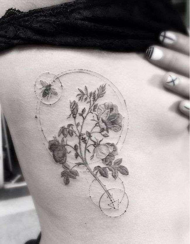16 тату идей для людей, которые не хотят, чтобы все знали, что у них есть татуировка