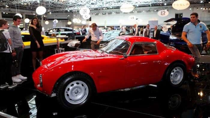 В Италии начали собирать классические авто с современной начинкой