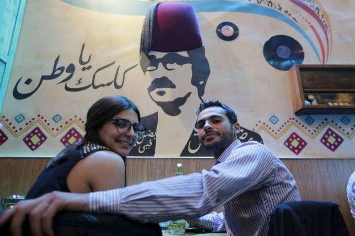 Ночная жизнь в Дамаске