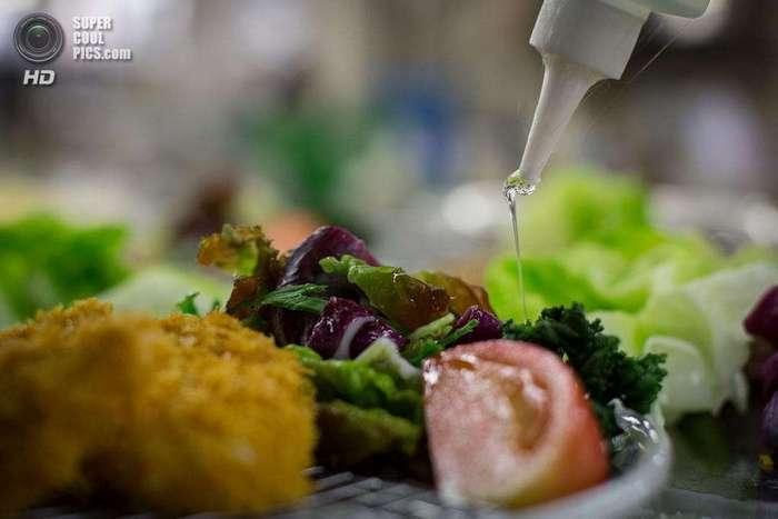 Как делают виниловые муляжи блюд японской кухни