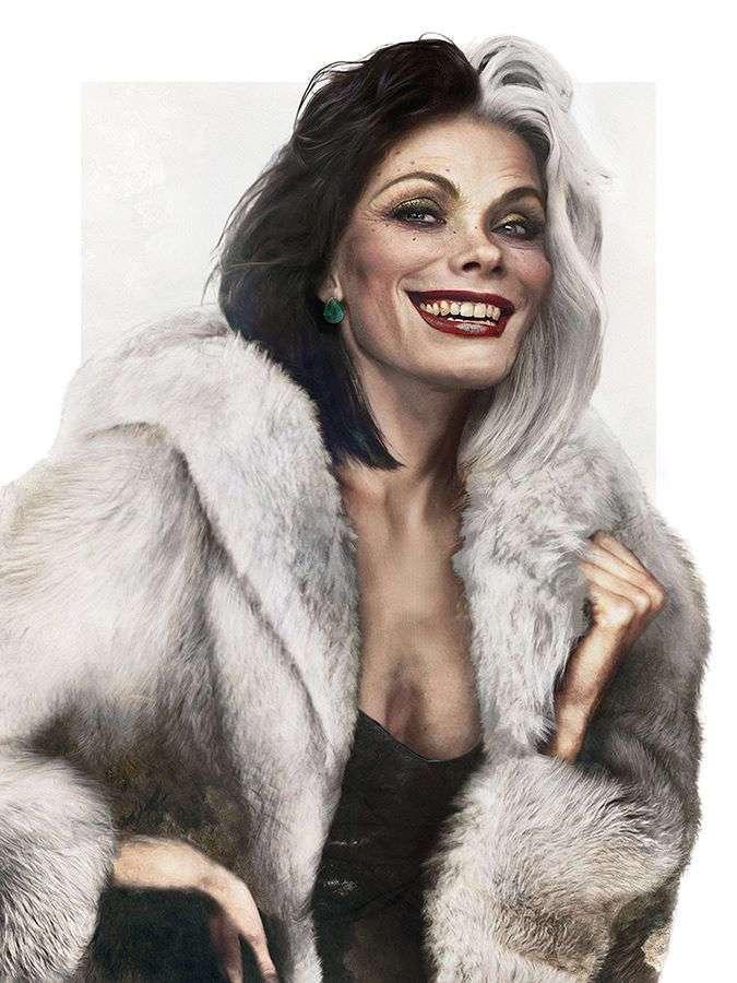 В честь Хеллоуина финский художник превратил диснеевских персонажей в реальных людей