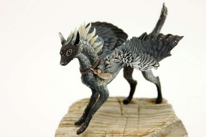 Как живые: 18 животных в стиле фэнтези от русского мастера