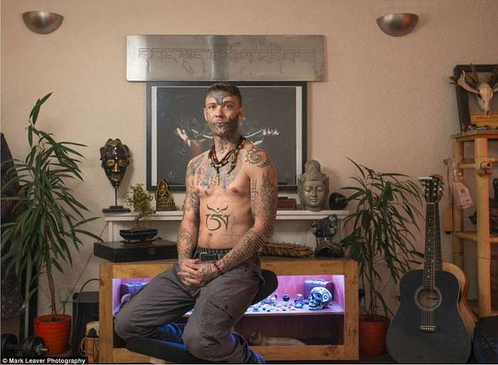 Тату на лице — бунт, провокация или образ жизни? — в фото-проекте британского фотографа