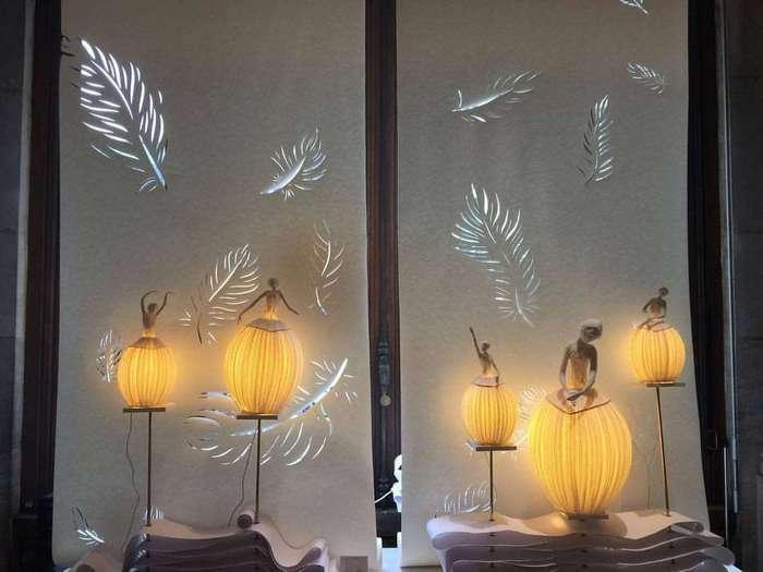 Элегантная бумага. Лампы со стилем