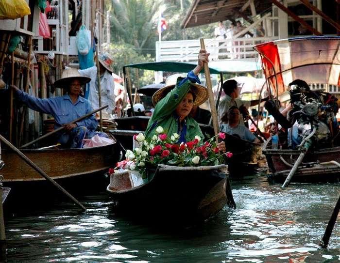 Плавучие рынки стран Юго-Восточной Азии