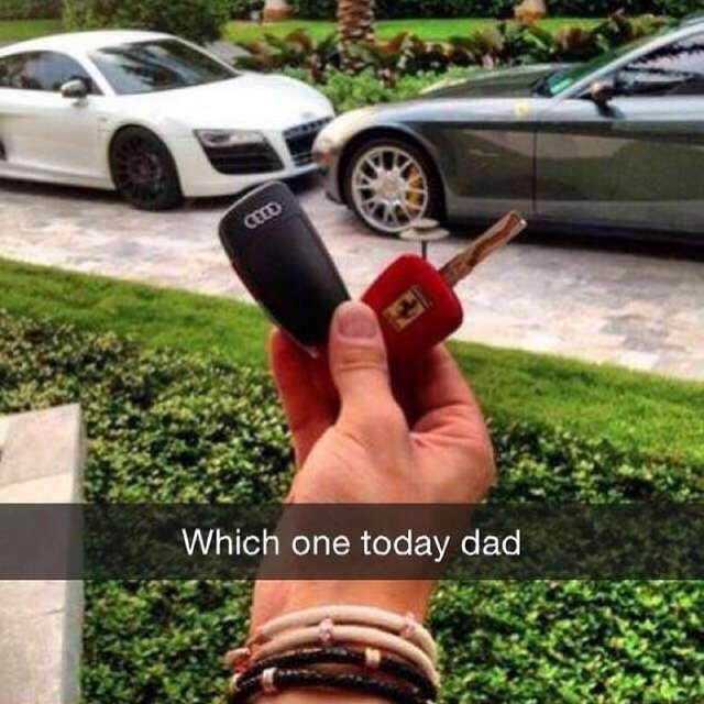 Группа родителей богатых детишек