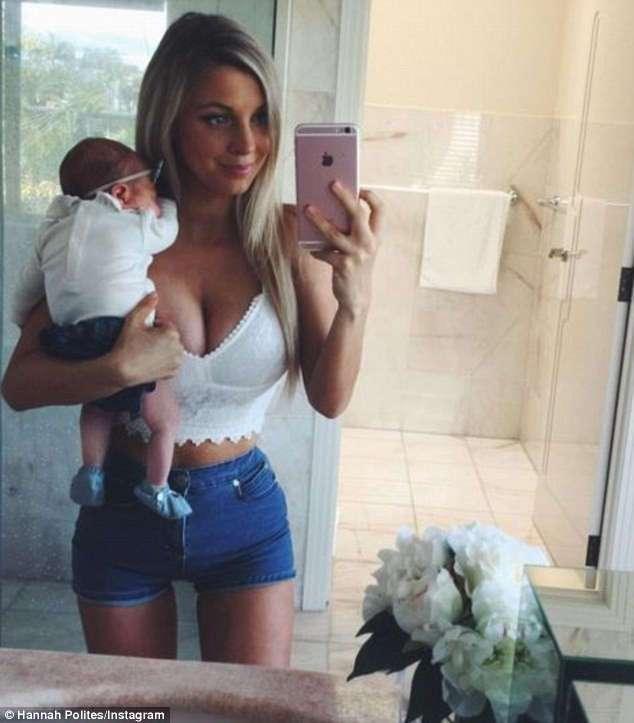 Девушка демонстрирует шикарную фигуру через девять недель после родов