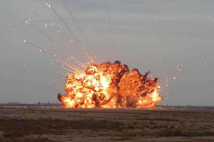 Вакуумные бомбы. История появления и принцип действия