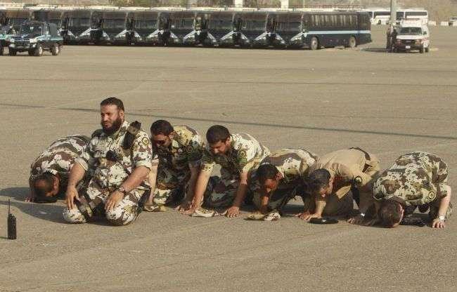 Саудовский спецназ отжигает