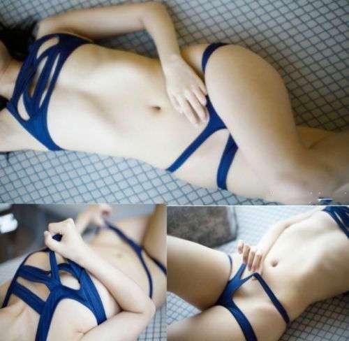 Японские купальники в стиле бондаж — новый тренд этого лета