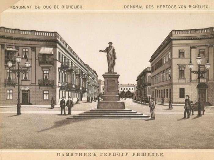 Как герцог де Ришелье поборол эпидемию чумы, или Почему в Одессе стоит памятник Дюку