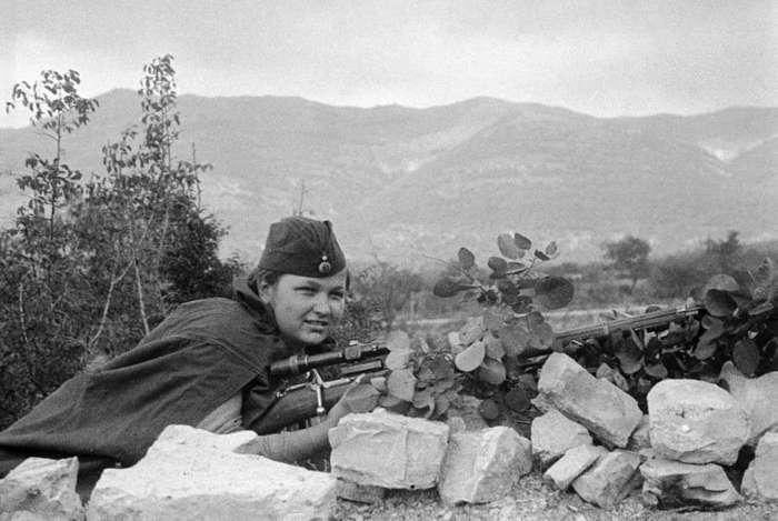 Советские женщины-снайперы: «Мы косили гитлеровцев, как зрелое зерно»