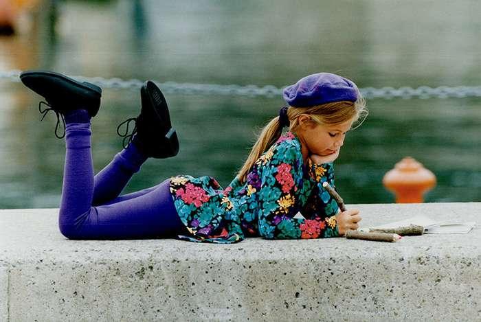 Детство без социальных сетей и смартфонов