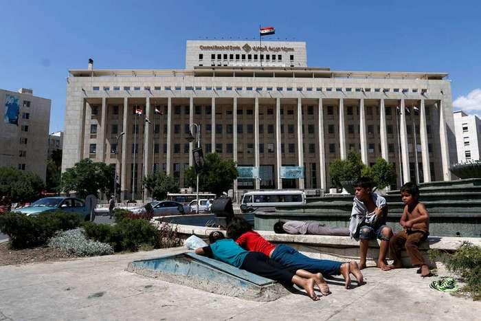 Кадры повседневной жизни в Сирии