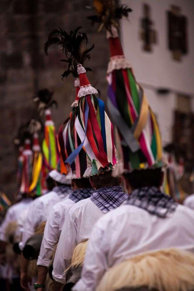 Празднование весеннего пробуждения Земли испанских язычников
