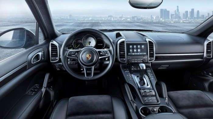 Эксклюзивная версия Platinum Edition для дизельного и гибридного Porsche Cayenne