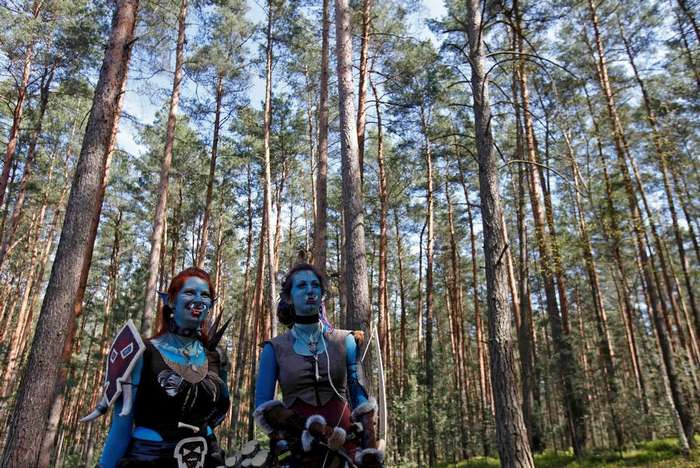 """Поклонники """"World of Warcraft"""" собрались в чешском лесу"""