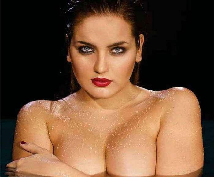 В рейтинг Maxim самых сексуальных женщин России попала модель plus-size — шикарная Евгения Подберёзкина