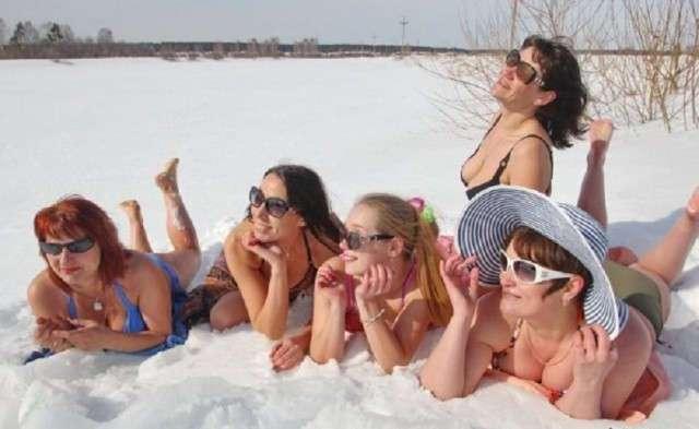 Девушки охлаждённые