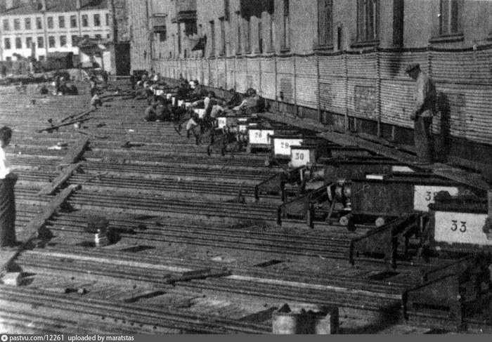 Москва, 1939 год. Здание в 23000 тонн в центре Москвы передвинули за одну ночь