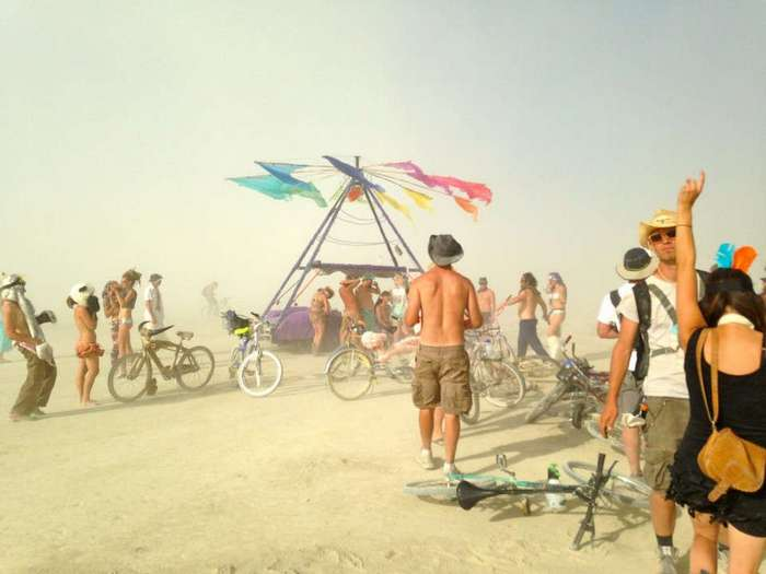 Фестиваль «Burning Man» 2016