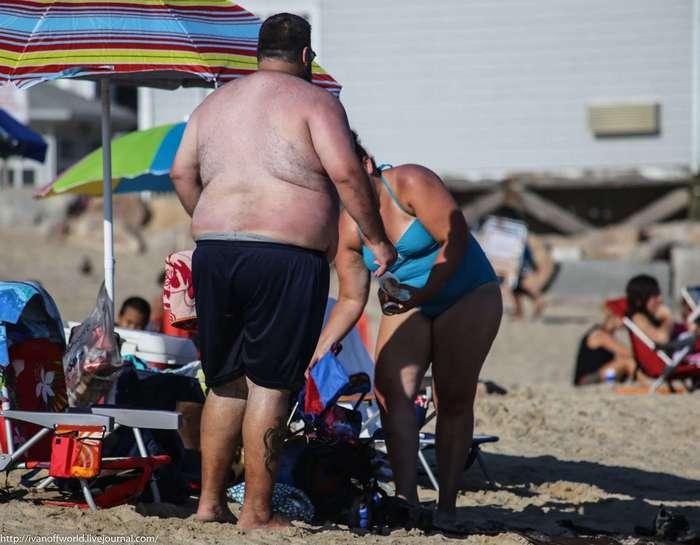 Негласные правила на американском пляже