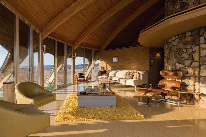 Винтажный дом-вулкан в Калифорнии
