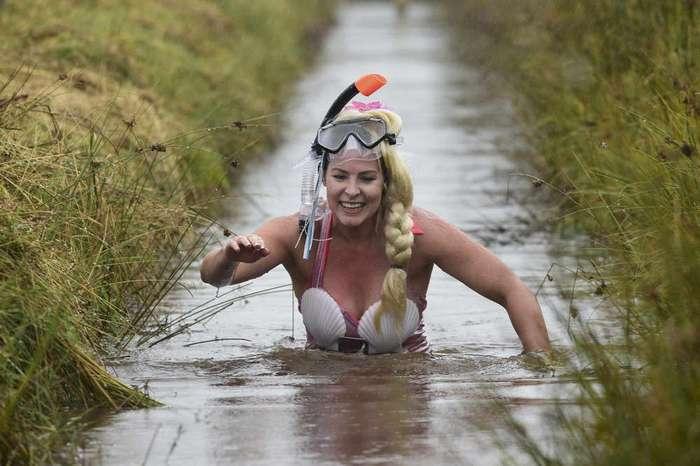 Всемирный чемпионат по плаванию в болоте