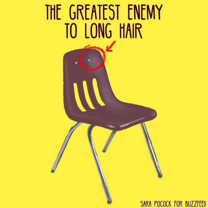 21 проблема, которая известна всем обладательницам длинных волос