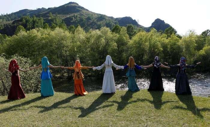 Праздник традиционной моды в Хакасии