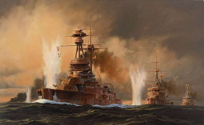 Последнее сражение крупнейших флотов мира