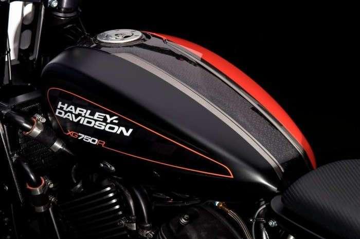 Гоночный флэт-трекер от легендарного бренда Harley-Davidson
