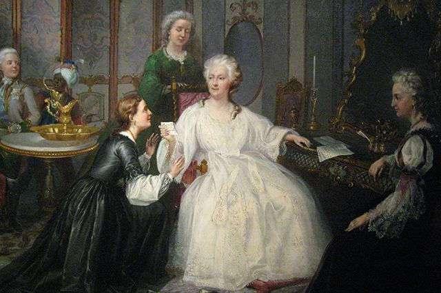 Шесть исторических анекдотов о Екатерине Великой