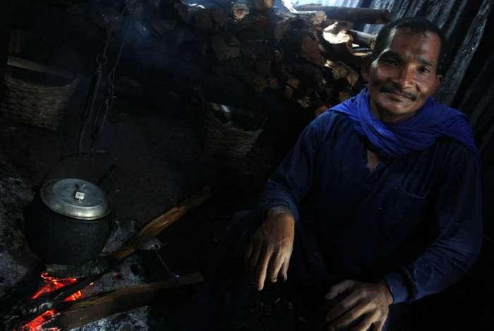 Как добывают серу в Индонезии
