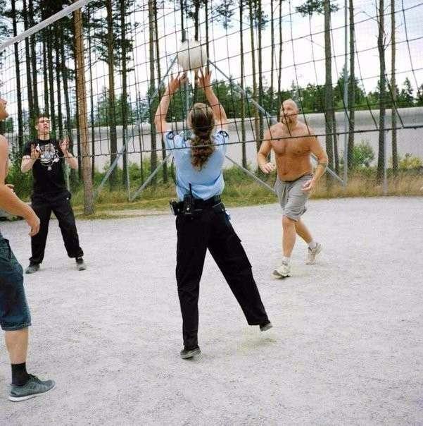 А это норвежская тюрьма