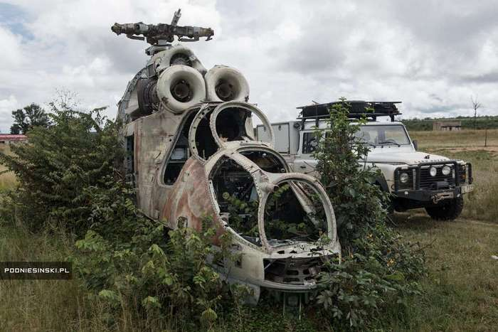 Фоторепортаж из Анголы Аркадиуша Поднесински