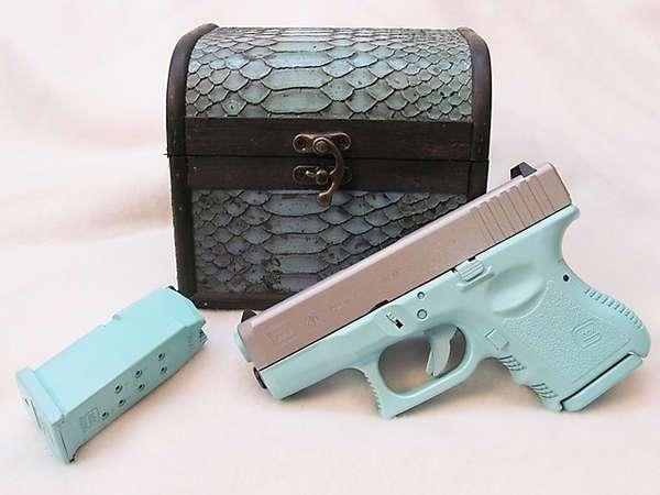 Как увеличить продажи оружия у женщин