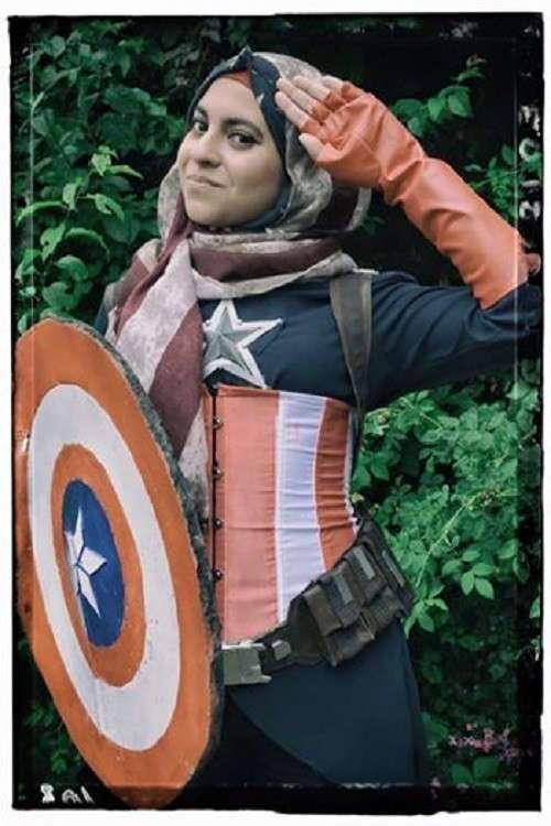 Косплей по-мусульмански: идет ли Капитану Америке хиджаб?