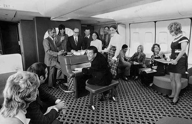 Винтажные фотографии авиаперелётов прошлого