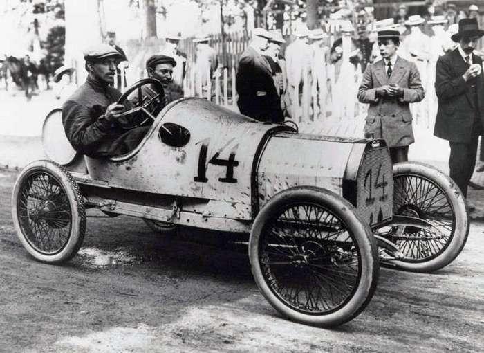 Эти автомобили были первыми