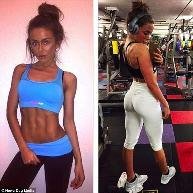 Британка, отказавшаяся от изнурительных диет в пользу фитнеса, стала новой Инстаграм-сенсацией