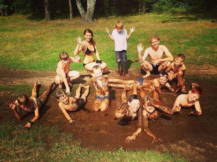 А вы знали, как дети развлекаются в летних лагерях?