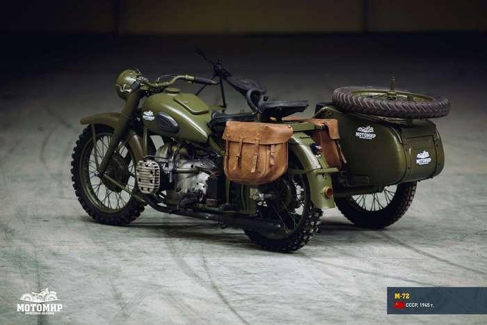 Легендарные мотоциклы Второй мировой