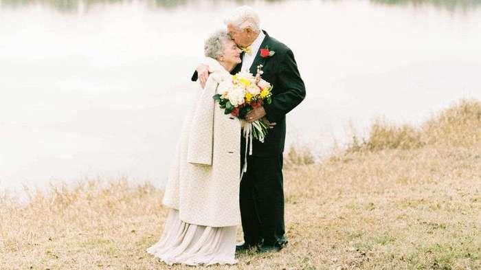 Любовь длиною в жизнь: трогательная фотосессия супругов к 63-й годовщине свадьбы