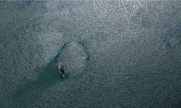 Бангладеш с высоты птичьего полёта
