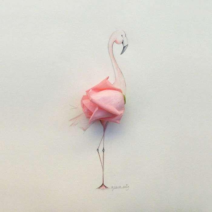 Удивительные цветочные (и не только) фантазии испанского художника