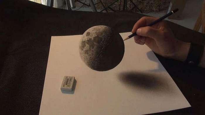 Феноменальные 3D-рисунки, которые гарантированно обманут ваш мозг
