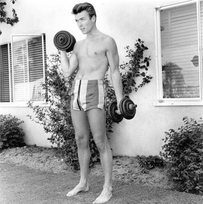Клинт Иствуд, как секс-бомба